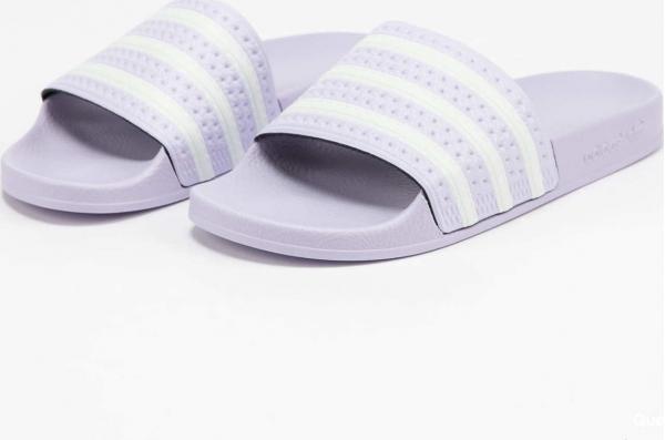 adidas Originals Adilette W prptnt / ftwwht / prptnt
