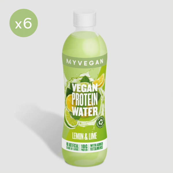 MyVegan  Clear Vegan Protein Water - 6 x 500ml - Láhev - Lemon Lime