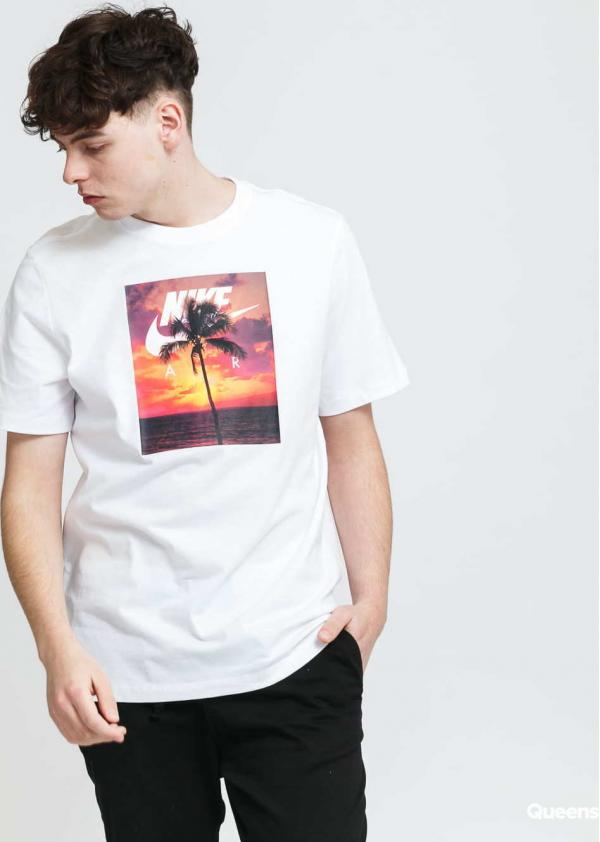 Nike M NSW Tee Spring BRK Photo bílé