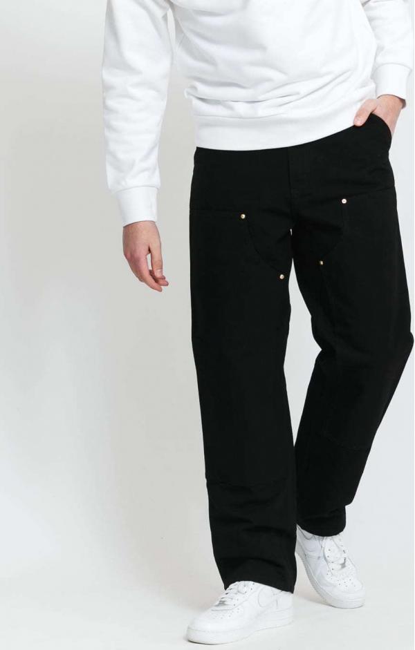 Carhartt WIP Double Knees Pant black rinsed 38/34