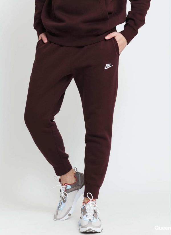Nike M NSW Club Jogger BB tmavě vínové