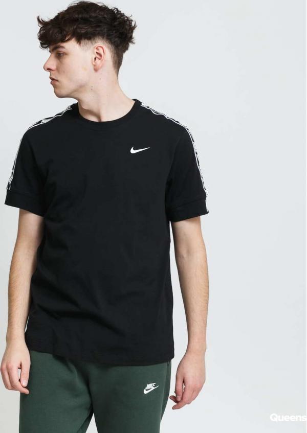 Nike M NSW Repeat Tee SS černé