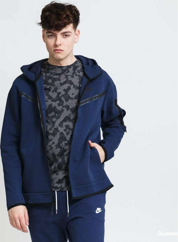 Nike M NSW Tech Fleece Hoodie FZ WR navy