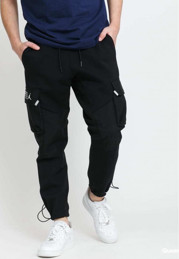 Jordan M J 23 Engineered Fleece Pant černé