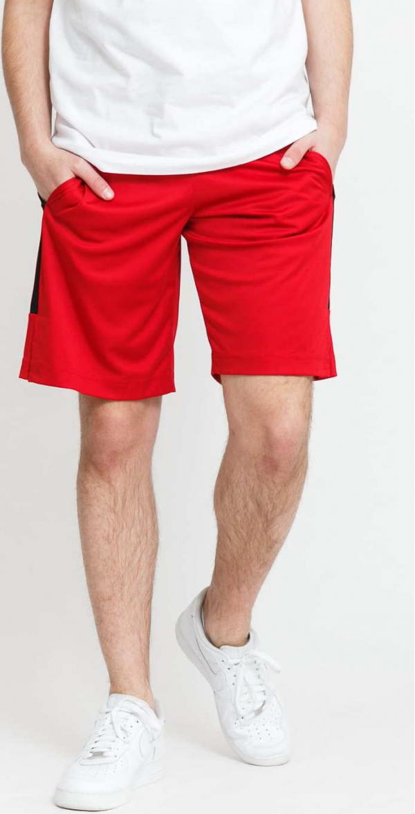 Jordan M J Air Dry Knit Short červené / černé
