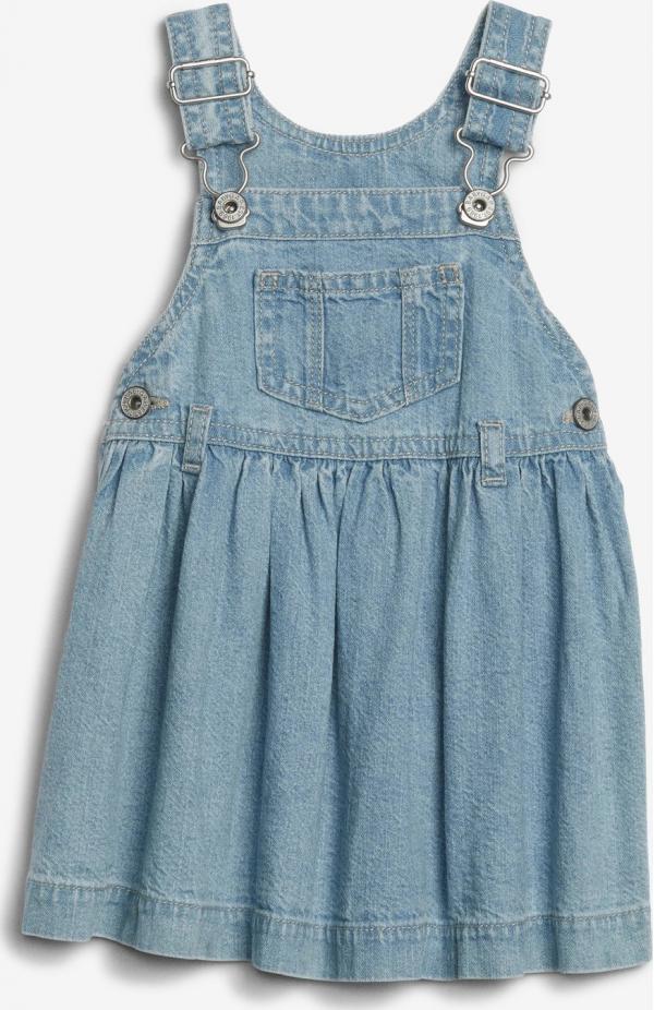 Šaty s laclem dětské GAP