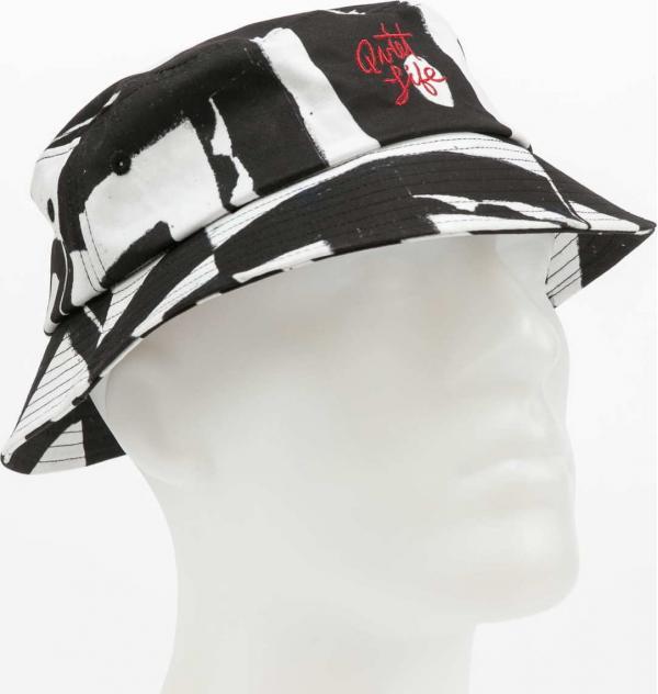 The Quiet Life Ekta Bucket Hat černý / bílý