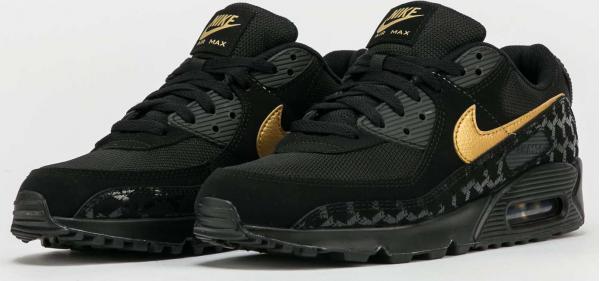 Nike Air Max 90 black / metallic gold - black