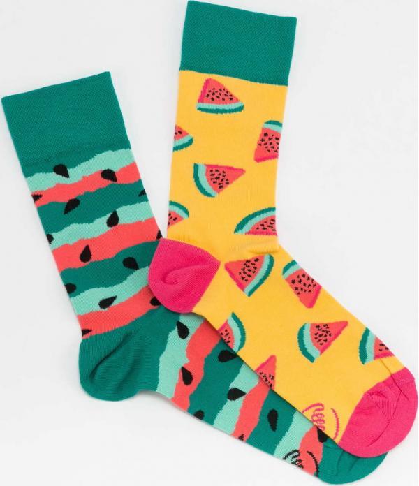 Many Mornings Watermelon Splash Socks