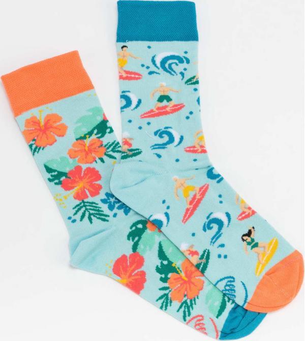 Many Mornings Aloha Vibes Socks