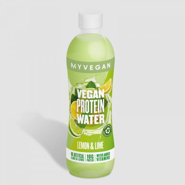 MyVegan  Clear Vegan Protein Water (Sample) - 500ml - Láhev - Lemon Lime
