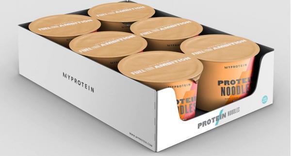 Myprotein  Proteinové nudle v kelímku - 6 x 68g - Curry
