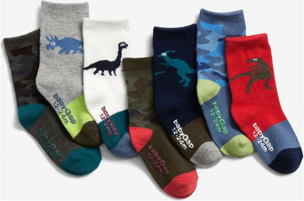 Ponožky 7 párů dětské GAP