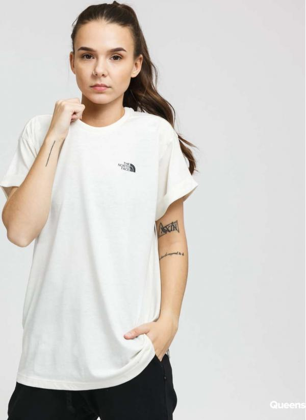 The North Face W SS Tassaack Tee krémové