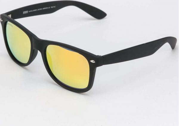 Urban Classics Sunglasses Likoma Mirror UC černé / oranžové