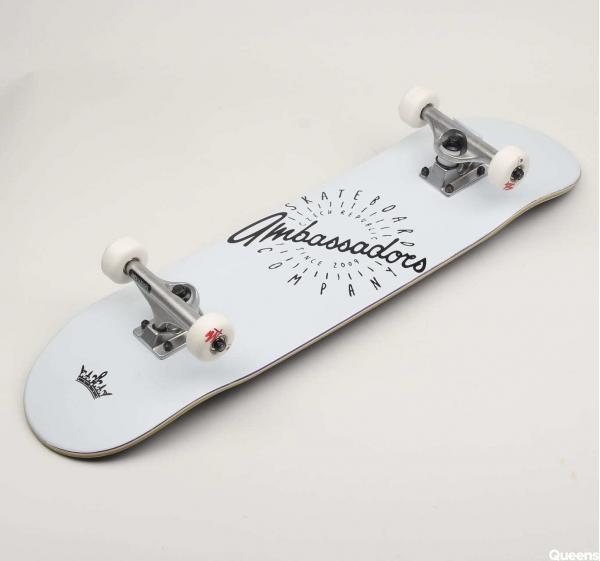 Ambassadors Komplet Skateboard Spin White II. 8.125