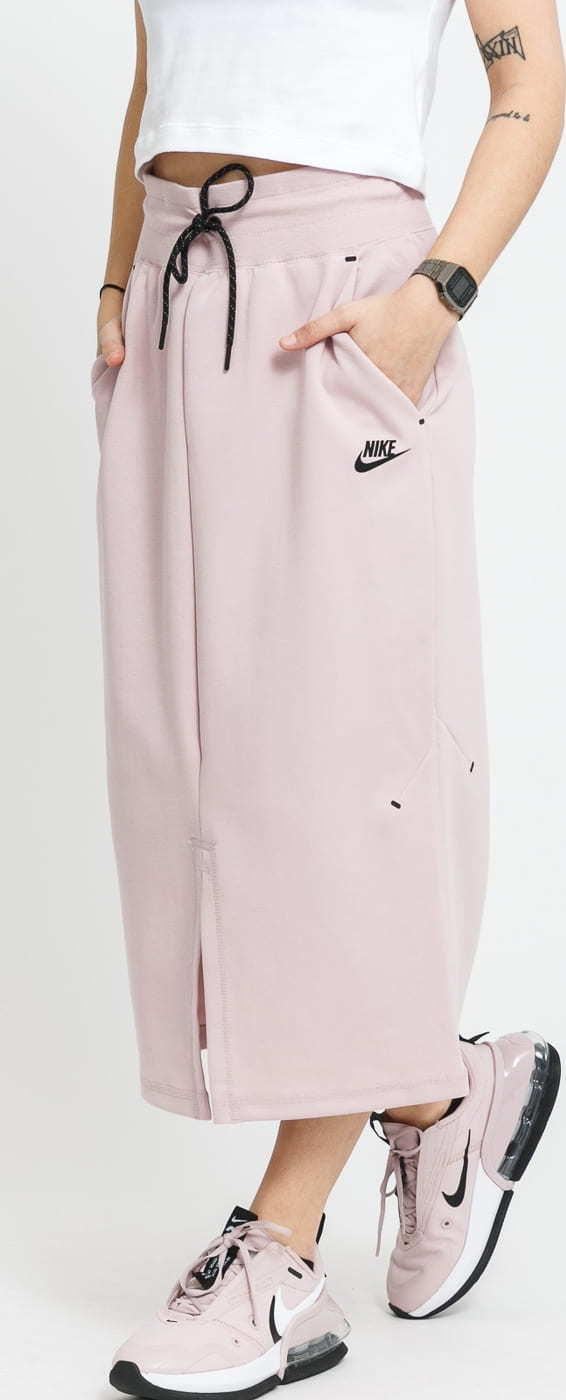 Nike W NSW Tech Fleece Skirt světle fialová