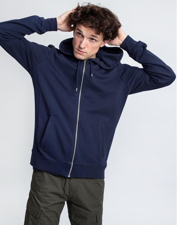 By Garment Makers The Organic Hoodie 3096 Navy Blazer S