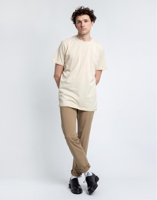 By Garment Makers The Organic Chino Pants 2851 Khaki W34/L32