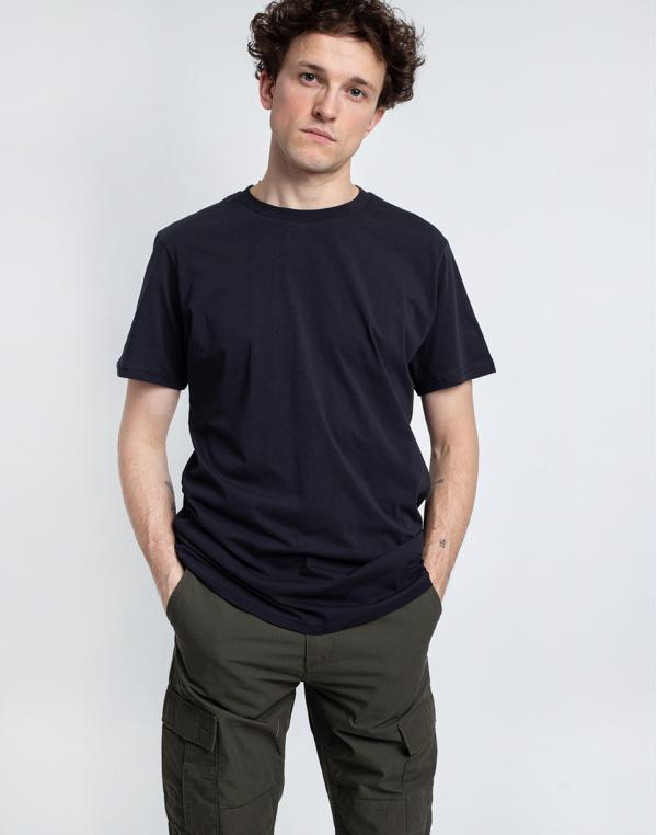By Garment Makers The Organic Tee 1204 Jet Black S