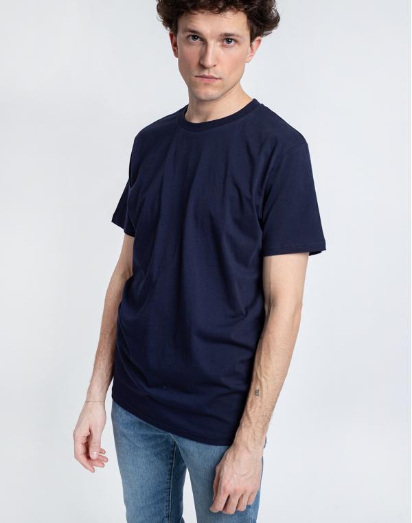 By Garment Makers The Organic Tee 3096 Navy Blazer M