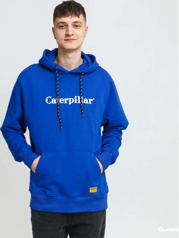 CATERPILLAR Classic Logo Hoodie modrá