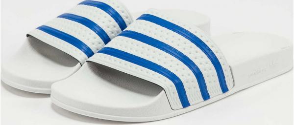 adidas Originals Adilette ftwwht / globlu / ftwwht