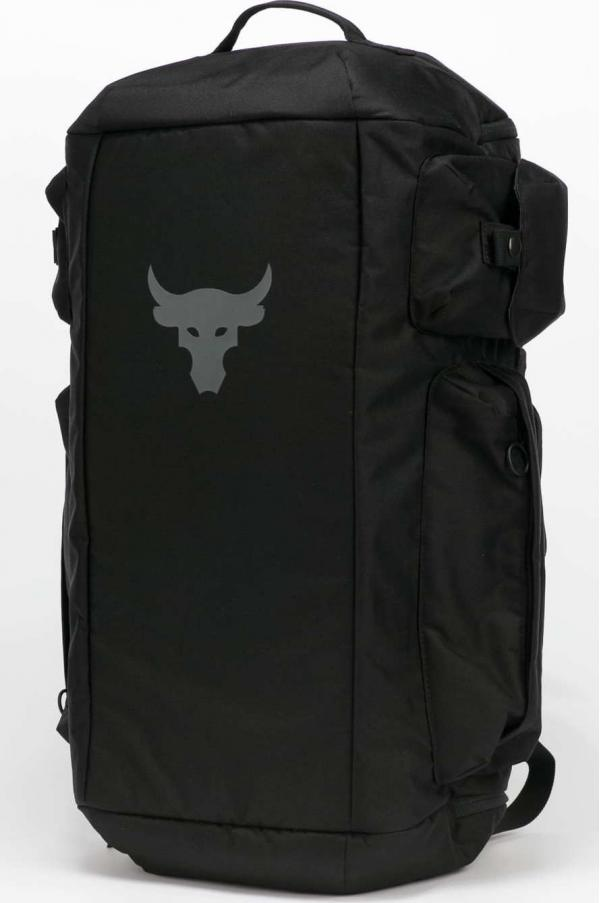 Under Armour Project Rock Duffle Backpack černý