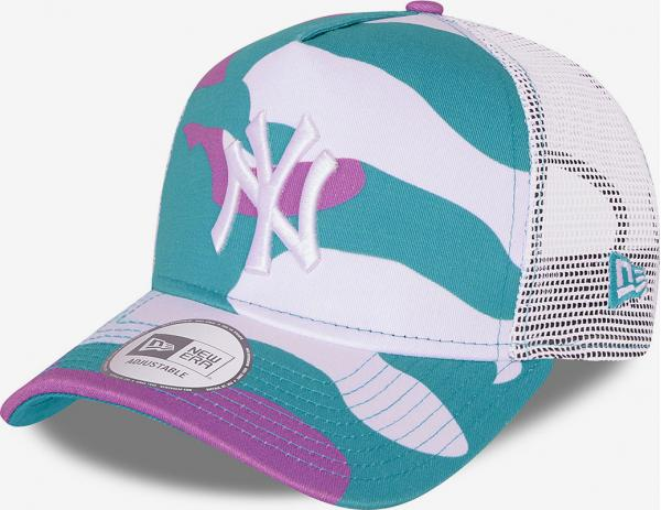 New York Yankees Camo Pack Teal 9Forty Kšiltovka New Era