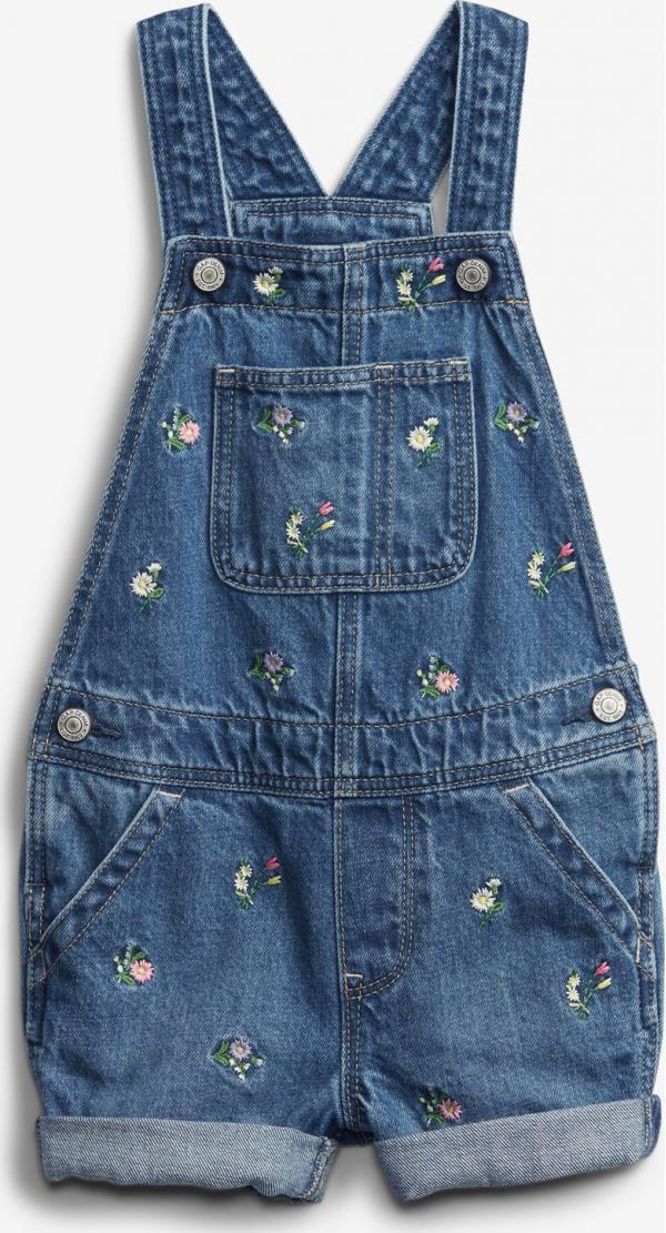 Embroidered Šortky s laclem dětské GAP