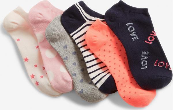 Ponožky 6 párů dětské GAP