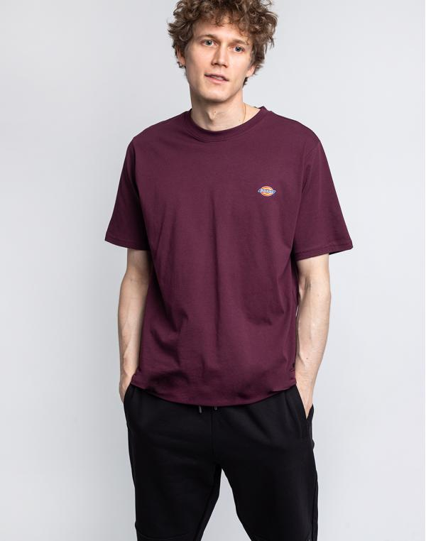 Dickies Mapleton T-Shirt Maroon M