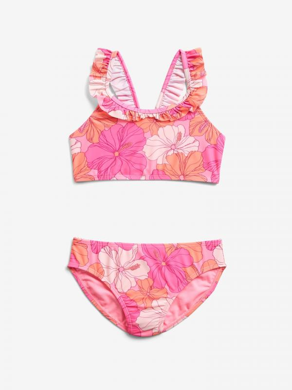 Ruffle Floral Plavky dětské GAP