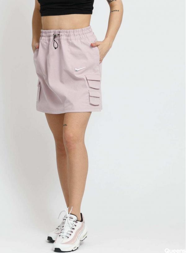 Nike W NSW Swoosh Skirt světle fialová
