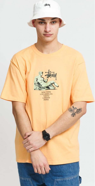 Stüssy Dionysos Tee oranžové