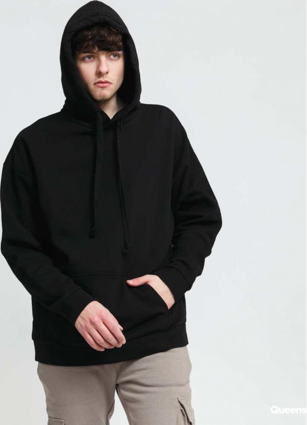 PREACH Essential Hoodie černá