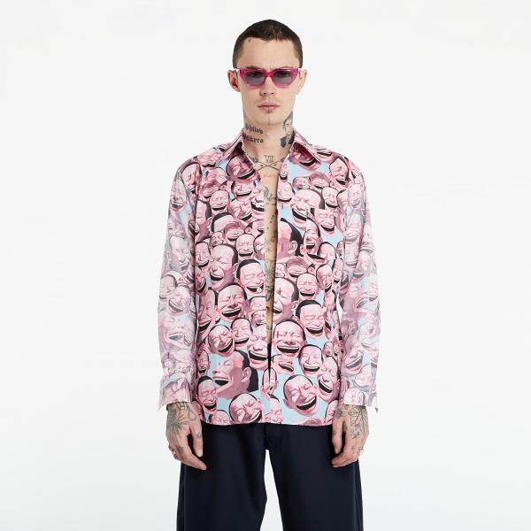 Comme des Garçons SHIRT Shirt Pink/ Blue