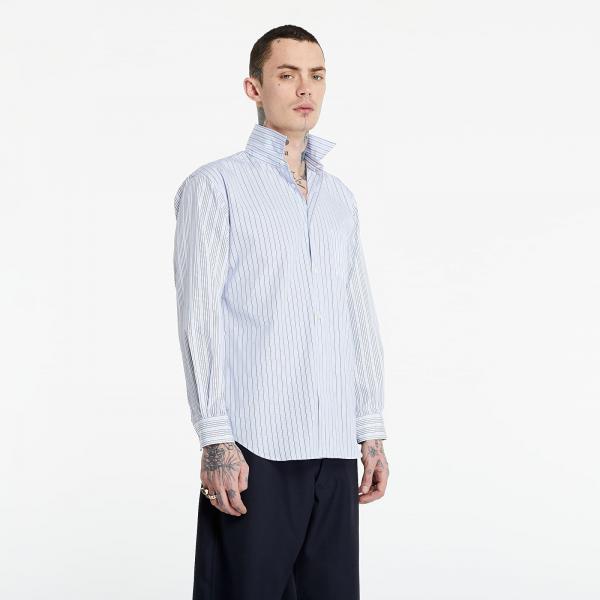 Comme des Garçons SHIRT Shirt Blue/ White