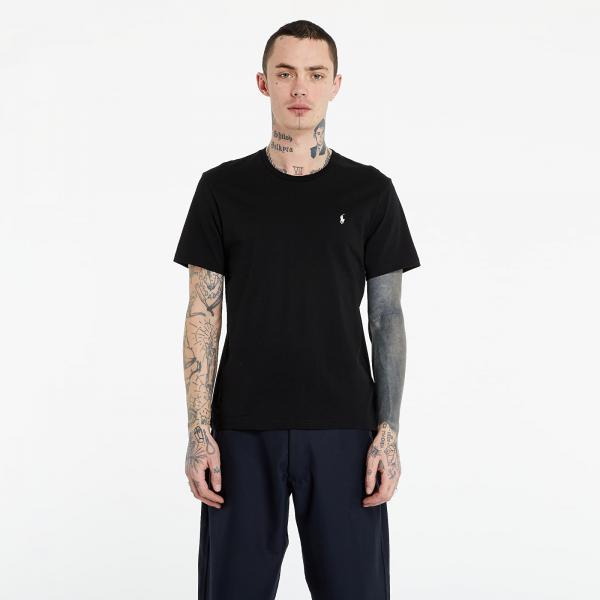Ralph Lauren Short Sleeve Sleep Top Black