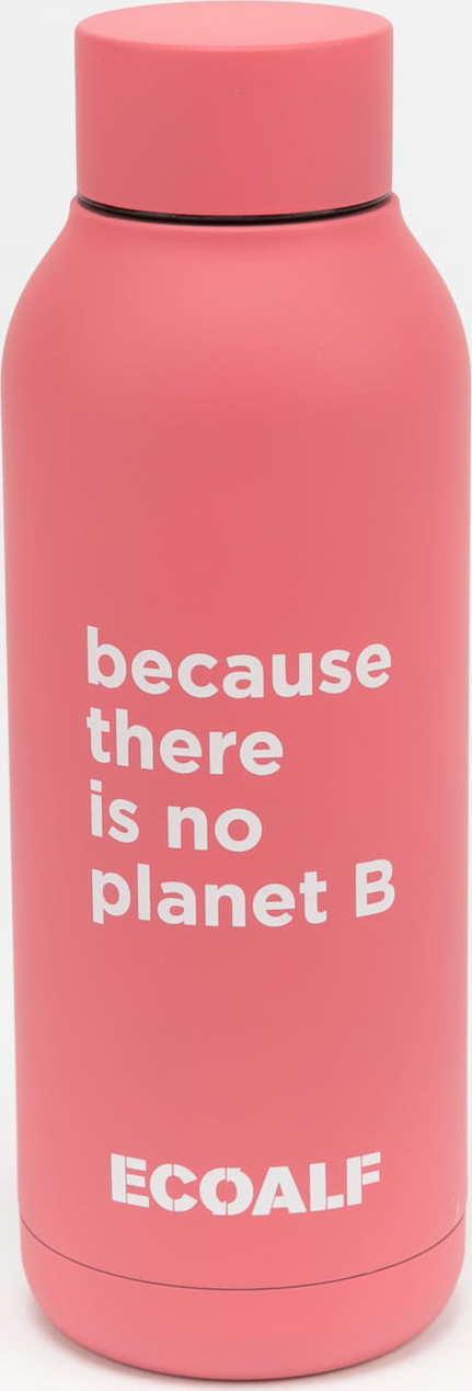 Ecoalf Bronson Stainless Steel Bottle 510ml růžová