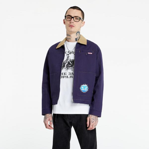 PACCBET Worker Thick Jacket Navy/ Khaki