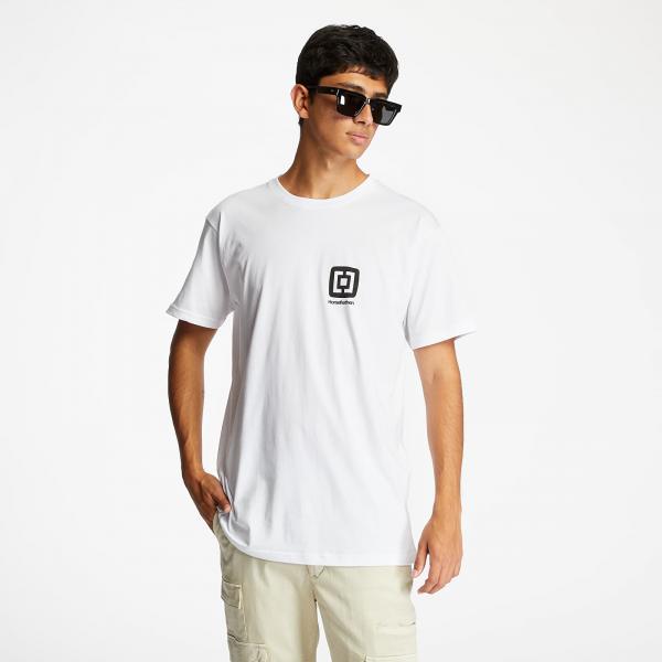 Horsefeathers Mini Logo T-Shirt White