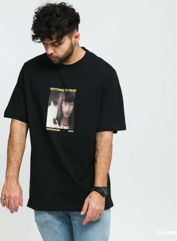 Wasted Paris Tribute Another World Tee černé