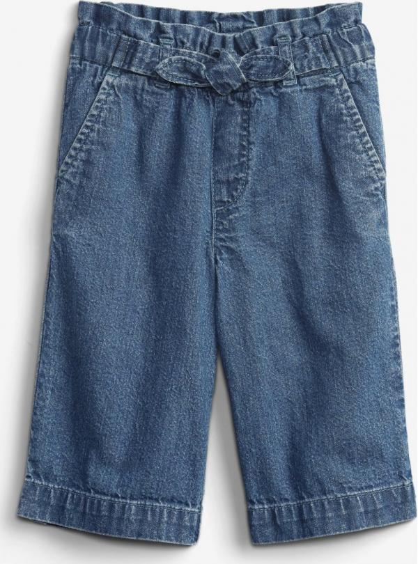Crop Paper Bag Med Kalhoty dětské GAP