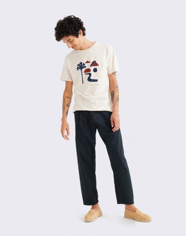 Thinking MU Oasis T-Shirt BONE M