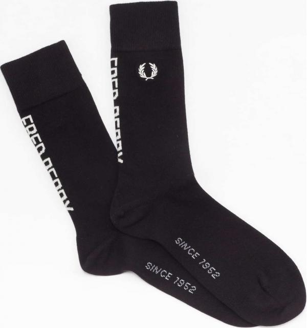 FRED PERRY Branded Socks černé 9-11