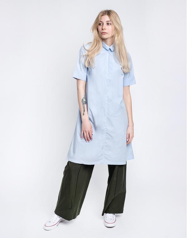 Knowledge Cotton Azalea Shirt Dress 1009 Skyway XS