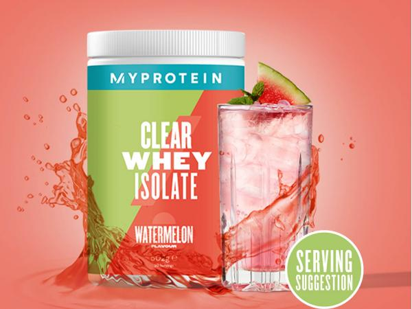 Myprotein  Clear Whey Isolate - 35servings - Vodní meloun