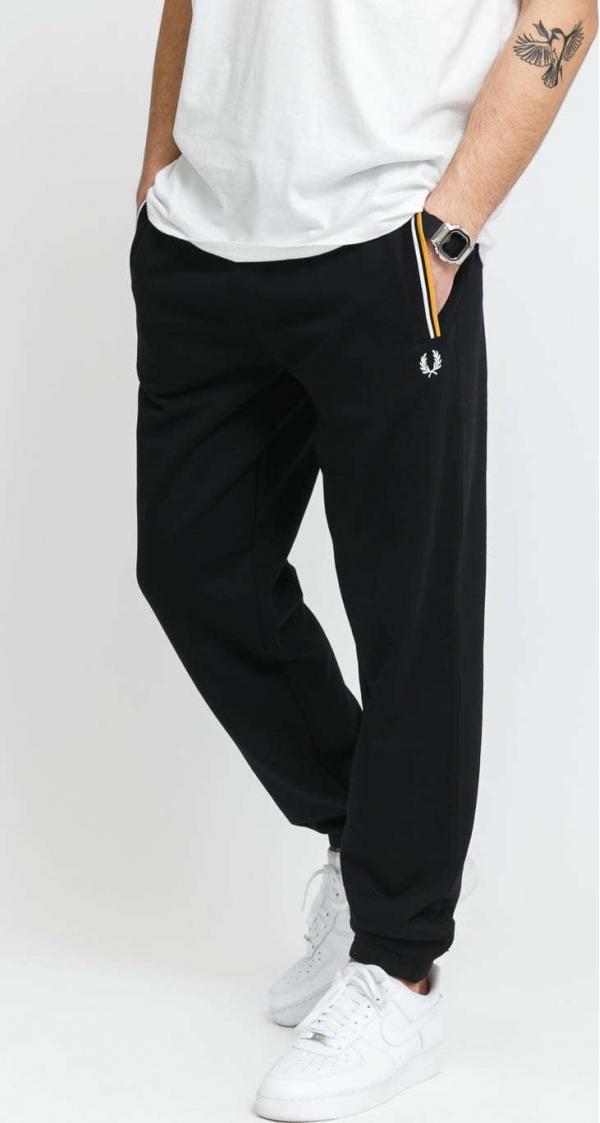 FRED PERRY Loopback Sweatpant černé