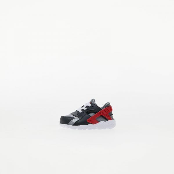 Nike Huarache Run (TD) Dk Smoke Grey/ University Red